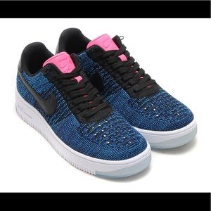 Nike Flyknit Air Force 1s
